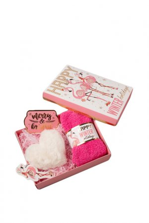 Подарочный набор KAFTAN. Цвет: розовый
