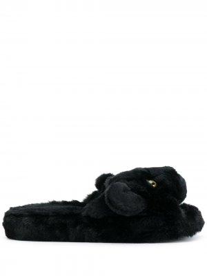 Сандалии panther Dolce & Gabbana. Цвет: черный