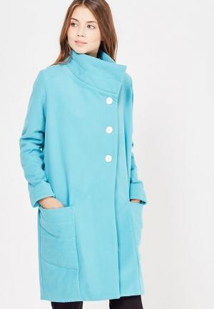 Пальто C.H.I.C.. Цвет: бирюзовый