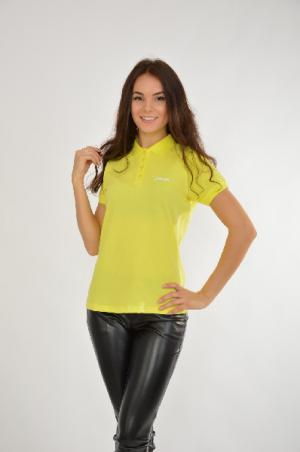 Поло Short Sleeve POLO ASICS. Цвет: желтый