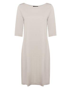 Платье 10Z08080 s св.серый European Culture. Цвет: св.серый