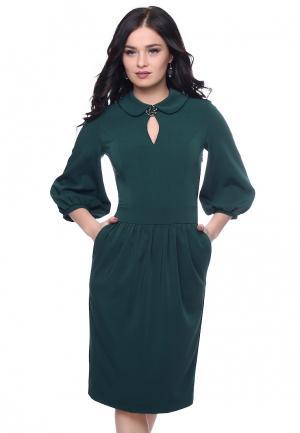 Платье Grey Cat LAYKY. Цвет: зеленый