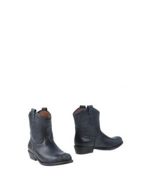 Полусапоги и высокие ботинки JOSEPHINE. Цвет: свинцово-серый