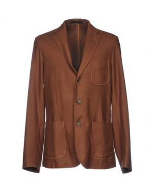Пиджак ROŸ ROGER'S. Цвет: коричневый
