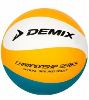 Мяч волейбольный Demix. Цвет: оранжевый