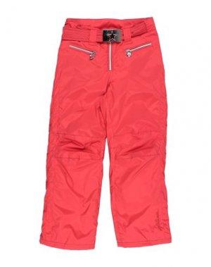 Лыжные брюки JET SET. Цвет: красный