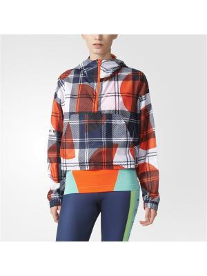 Анорак жен. CHECK WB Adidas. Цвет: красный