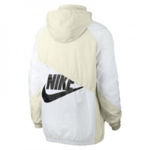 Мужской анорак из тканого материала Sportswear Nike. Цвет: кремовый