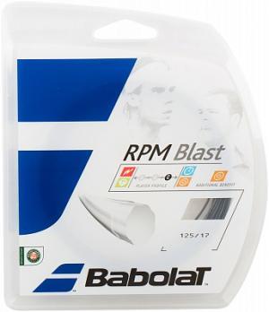 Струна для большого тенниса RPM Blast Babolat. Цвет: черный