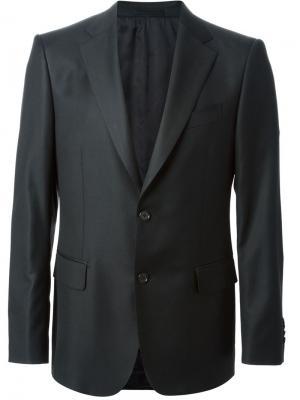Классический костюм Salvatore Ferragamo. Цвет: чёрный