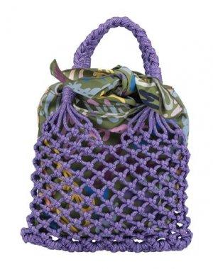 Сумка на руку M MISSONI. Цвет: фиолетовый