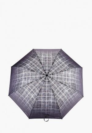 Зонт складной Goroshek. Цвет: серый
