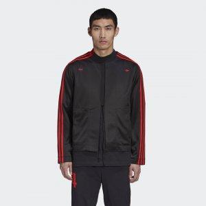Куртка 424 Kimono Originals adidas. Цвет: черный