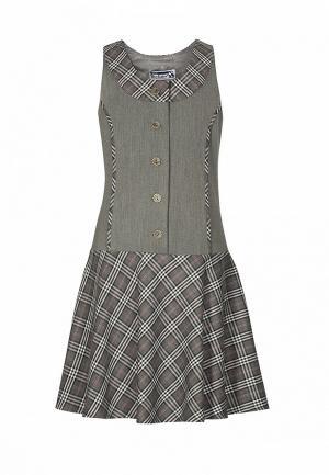 Платье Sky Lake. Цвет: серый