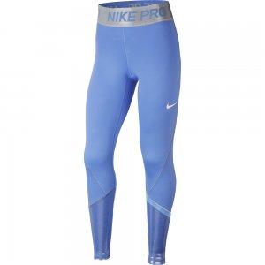 Pro Tights SS Nike. Цвет: голубой