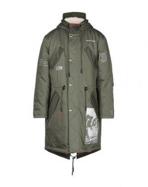Пальто BAND OF OUTSIDERS. Цвет: зеленый-милитари