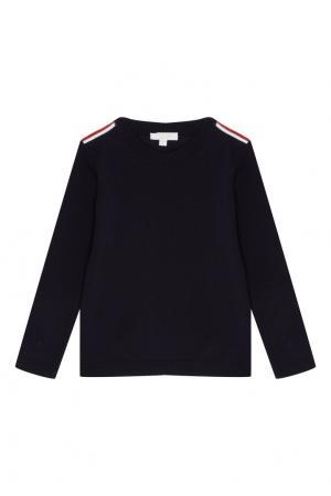 Черный пуловер Gucci Kids. Цвет: черный