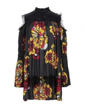 Короткое платье I'M ISOLA MARRAS. Цвет: свинцово-серый