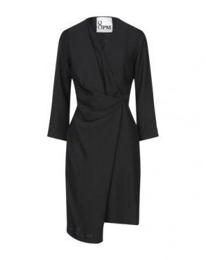 Платье до колена 8PM. Цвет: черный