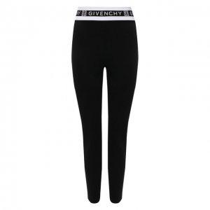 Леггинсы Givenchy. Цвет: чёрный