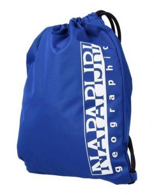 Рюкзаки и сумки на пояс NAPAPIJRI. Цвет: ярко-синий