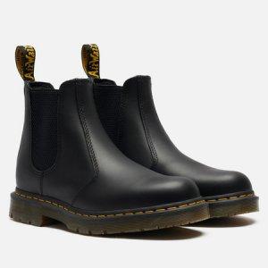 Ботинки 2976 Slip Resistant Leather Dr. Martens. Цвет: чёрный