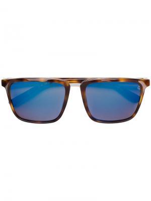 Солнцезащитные очки Parallel Etnia Barcelona. Цвет: коричневый