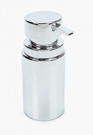 Дозатор для мыла Primanova. Цвет: серебряный