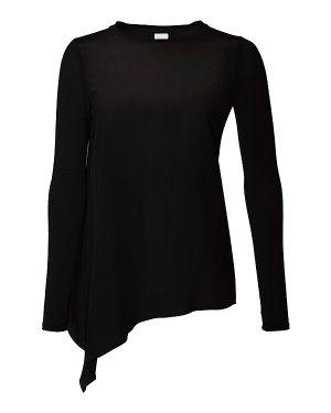 Блуза ZAIRA xs черный MaxMara_Leisure. Цвет: черный