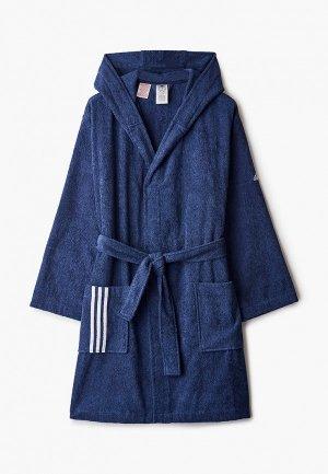 Халат домашний adidas BATHROBE U. Цвет: синий