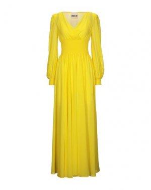 Длинное платье ANIYE BY. Цвет: желтый