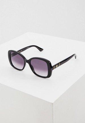Очки солнцезащитные Gucci GG0762S 001. Цвет: черный