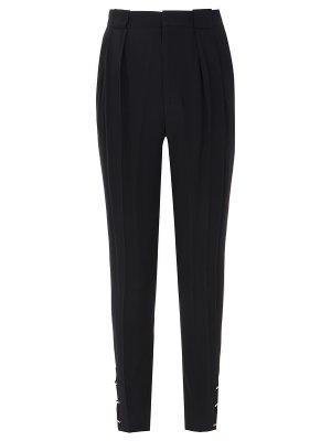 Элегантные брюки с защипами GUCCI