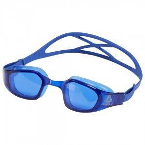 Очки для плавания Swim Training Reebok. Цвет: crushed cobalt