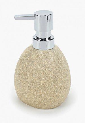 Дозатор для мыла Dcasa D'casa Arena Stone, 350 мл. Цвет: бежевый