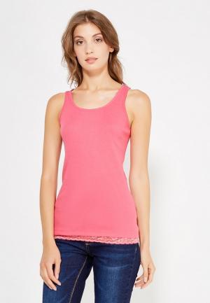 Майка Nice & Chic. Цвет: розовый