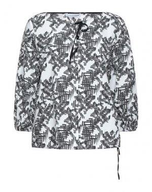 Блузка CARACTÈRE. Цвет: белый