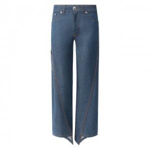 Укороченные джинсы Lanvin. Цвет: синий