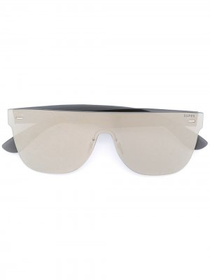 Солнцезащитные очки с оправой авиатор Retrosuperfuture. Цвет: золотистый