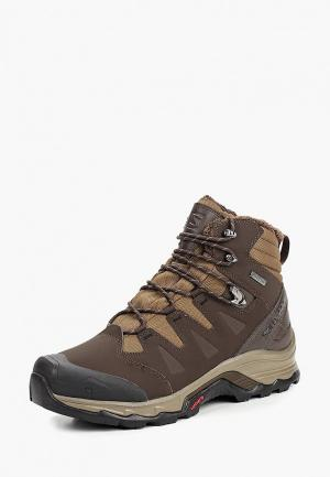 Ботинки трекинговые Salomon QUEST WINTER GTX®. Цвет: коричневый