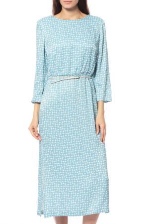Платье Alexander Terekhov. Цвет: голубой