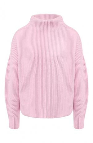 Шерстяной пуловер BOSS. Цвет: светло-розовый