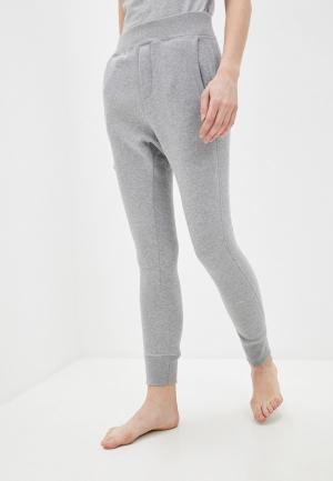 Брюки домашние Dsquared2 Underwear. Цвет: серый