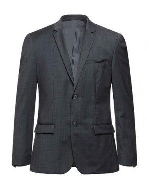 Пиджак CALVIN KLEIN. Цвет: стальной серый