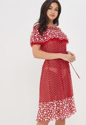 Платье пляжное Charmante. Цвет: красный