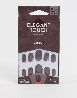 Накладные ногти Garnet-Бесцветный Elegant Touch