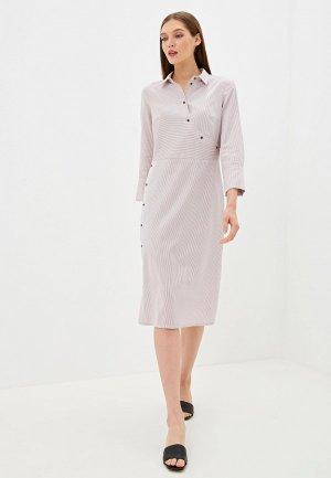 Платье EMI. Цвет: розовый