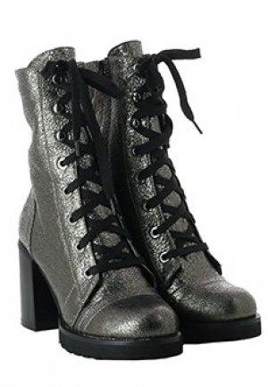 Ботинки BALDAN. Цвет: серый