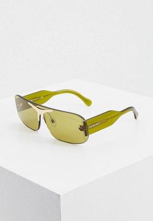 Очки солнцезащитные Burberry BE3123 3917/2. Цвет: зеленый