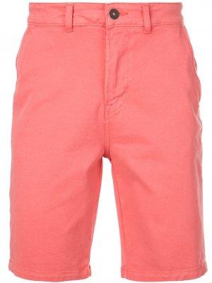 Шорты с карманами Hudson. Цвет: розовый